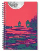 Moon Racers Spiral Notebook
