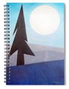 Moon Rings Spiral Notebook