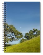 Moon Rising Spiral Notebook