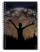 Moon Rising Spiral Notebook