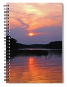 Moon River Silhouette Spiral Notebook