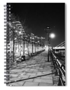 Moon Romance Bw Spiral Notebook