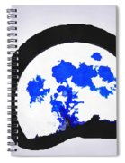 Moon Set Spiral Notebook