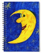 Moon Shine Spiral Notebook