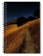 Moon Walk Spiral Notebook
