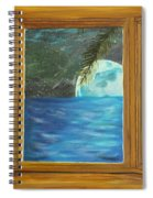 Moon Window Spiral Notebook