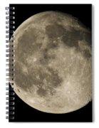 Moon3 Spiral Notebook