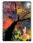 Moonbathing Spiral Notebook