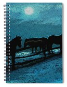 Moonbeam Spiral Notebook