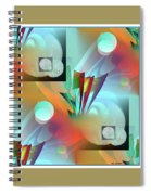 Moonbow 10 Spiral Notebook