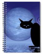 Mooncat's Loneliness Spiral Notebook