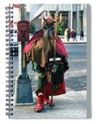Moondog  Spiral Notebook