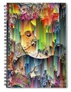 Moondrops Spiral Notebook