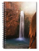 Mooney Falls Grand Canyon 1 Spiral Notebook