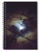 Moonlight And Branch 2 Spiral Notebook