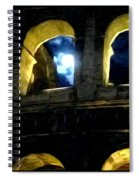 Moonlight At The Colosseum Spiral Notebook