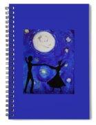 Moonlight Dance Spiral Notebook