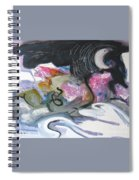 Moonlight Fever Spiral Notebook