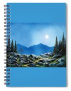 Moonlight Hike Spiral Notebook