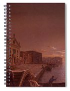Moonlight In Venice Henry Pether Spiral Notebook