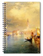 Moonlight In Venice Spiral Notebook