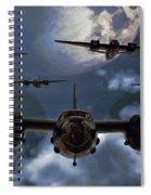 Moonlight Marauders Spiral Notebook