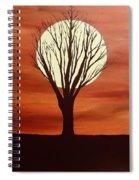 Moonlight Mile Spiral Notebook