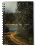 Moonlight Mile Spiral Notebook