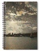 Moonlight Mood, The Stockholm Inlet  Spiral Notebook