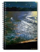 Moonlight On The Mississippi Spiral Notebook