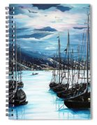 Moonlight Over Port Of Spain Spiral Notebook