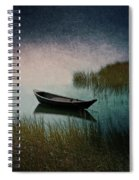 Moonlight Paddle Spiral Notebook