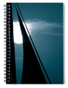 Moonlight Sail Spiral Notebook