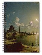 Moonlight Scene Spiral Notebook