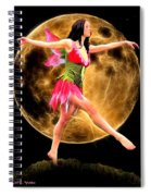 Moonlight Stroll Of A Fairy Spiral Notebook