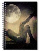 Moonlight Tanning V3 Spiral Notebook