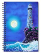 Moonlight Vigil Spiral Notebook