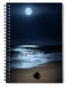 Moonlit Coconut Spiral Notebook