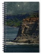 Moonlit Cove Spiral Notebook