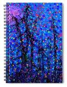 Moonlit Forest Spiral Notebook