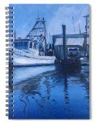 Moonlit Harbor Spiral Notebook