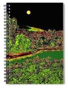 Moonlit Kaloya Park Spiral Notebook