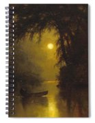 Moonlit Landscape Spiral Notebook