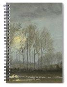 Moonlit Landscape Spiral Notebook