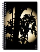Moonlit Leaves No 1 Spiral Notebook