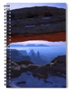 Moonlit Mesa Spiral Notebook