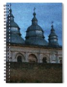 Moonlit Monastery Spiral Notebook