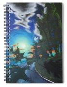 Moonlit Moto Spiral Notebook
