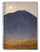 Moonlit Mountain Meadow Spiral Notebook