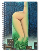 Moonlit Night- A Spiral Notebook
